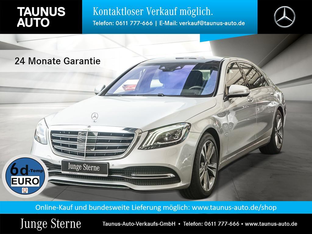 Mercedes-Benz S 560 4M L AKTIV-SITZE STANDH. FOND UPE:160.000,, Jahr 2019, Benzin