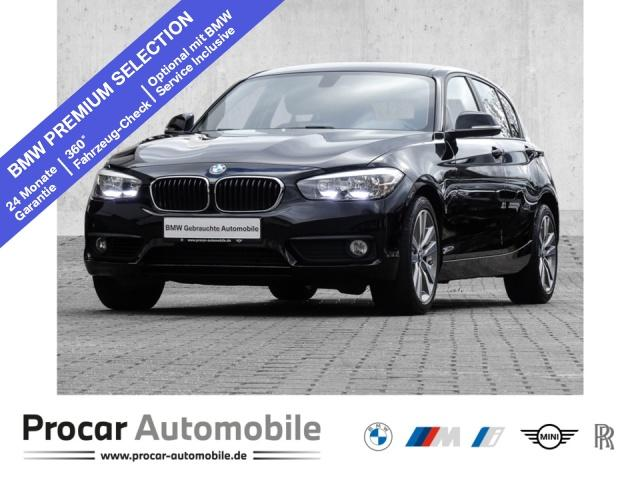 BMW 118i Advantage Aut. Navi Business PDC RFT NSW, Jahr 2018, Benzin