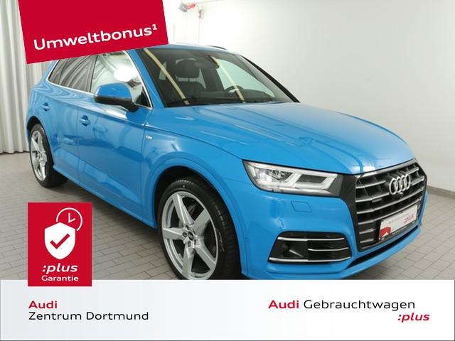 Audi Q5 55TFSI e qu. S line/Matrix/eSitze/ACC/Pano/B+O, Jahr 2020, Hybrid