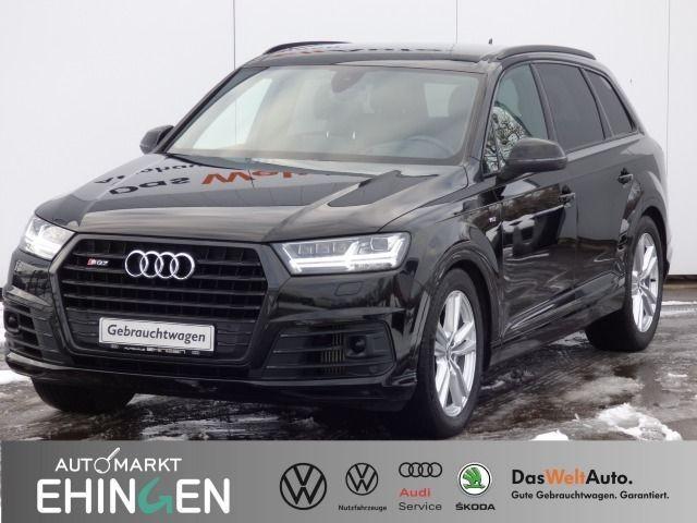 Audi SQ7 4.0 TDI quattro V8 Matrix AHK Nachtsicht, Jahr 2017, Diesel