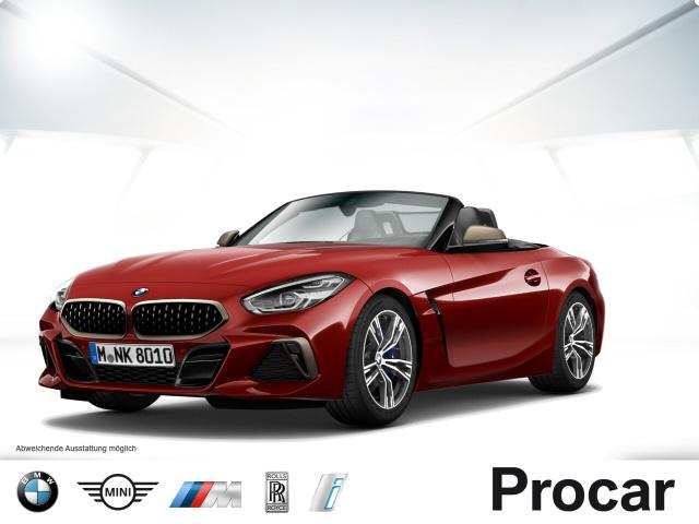 BMW Z4 M40i Cabrio HUD ACC Live Cockpit Prof. DAB, Jahr 2019, petrol