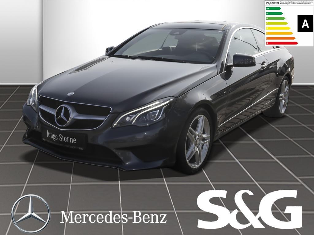 Mercedes-Benz E 250 CDI Coupe P.dach/Comand/Sportpaket/LED-ILS, Jahr 2014, diesel