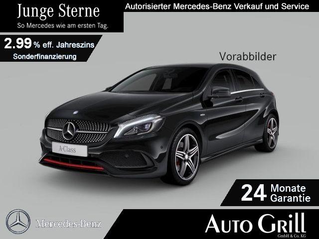 Mercedes-Benz A 250 Sport 4M AMG LED RüKam Logic7 Thermotronic, Jahr 2017, Benzin