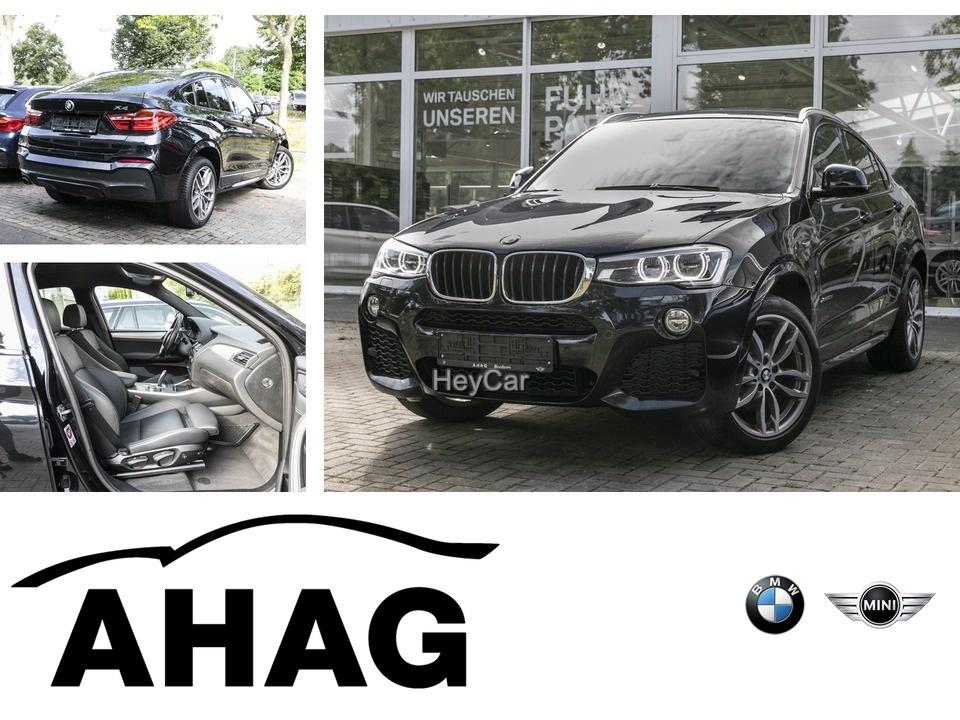 BMW X4 xDrive20d M Sportpaket Navi Prof. EDC AHK PDC, Jahr 2016, Diesel