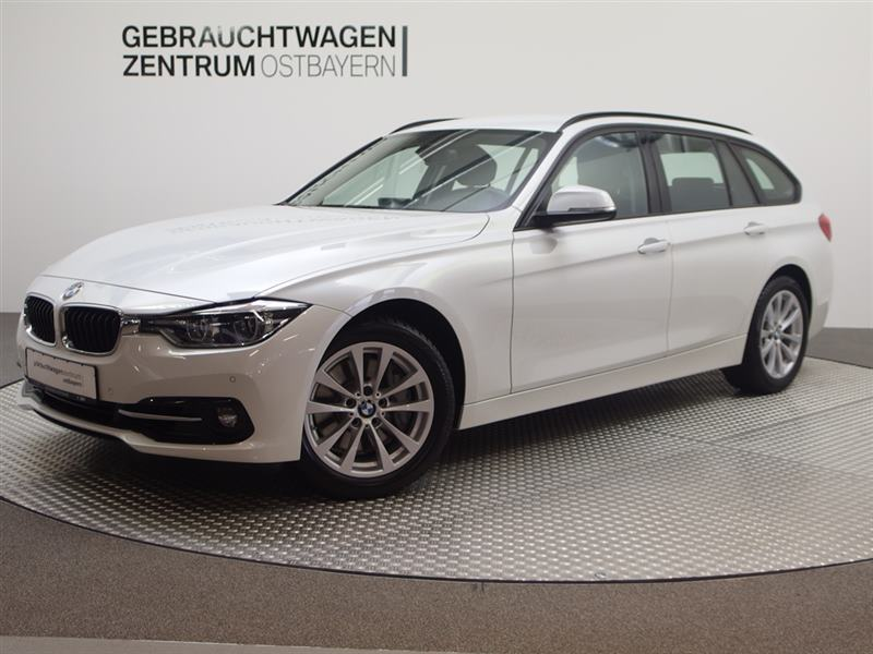 BMW 340i Touring Aut. Sport Line Navi+BT+PDC+SHZ++, Jahr 2019, petrol