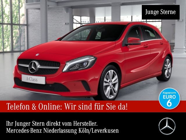 Mercedes-Benz A 200 Urban COMAND LED EDW PTS 7G-DCT Sitzh Temp, Jahr 2016, Benzin