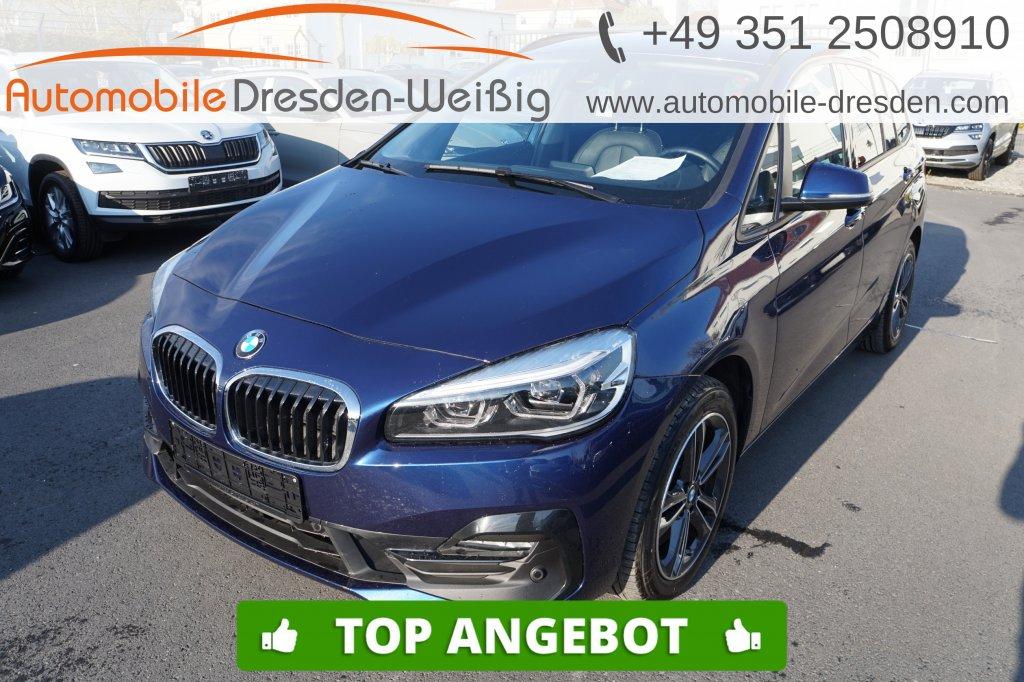 BMW 220 Gran Tourer d xDrive Sport Line*Nav*ACC*HiFi, Jahr 2019, Diesel