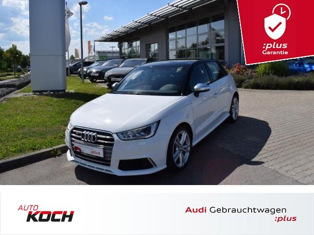 "Audi S1 Sportback 2.0 TFSI quattro, Xenon, Navi Plus, Klimaautomatik, LM 17"", Jahr 2016, petrol"