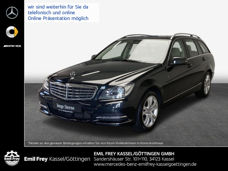 Mercedes-Benz C 180 T Elegance+Navi+Sitzhzg+ILS-Xenon+Park, Jahr 2013, Benzin
