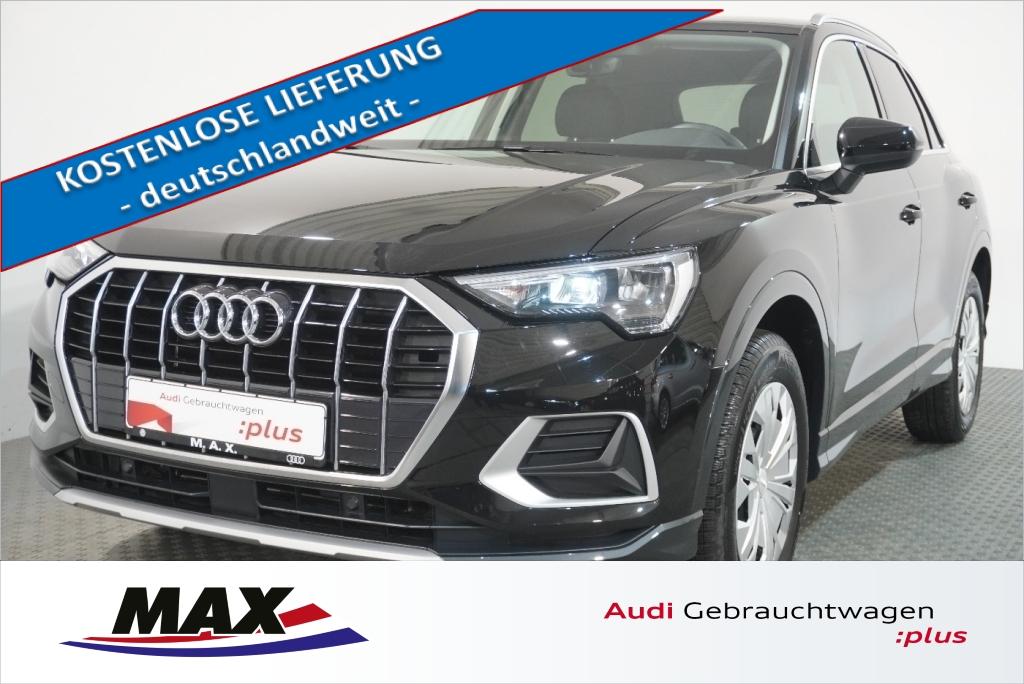 Audi Q3 35 TFSI Advanced 5j GAR LED AHK STDHZG 0,99%, Jahr 2019, Benzin