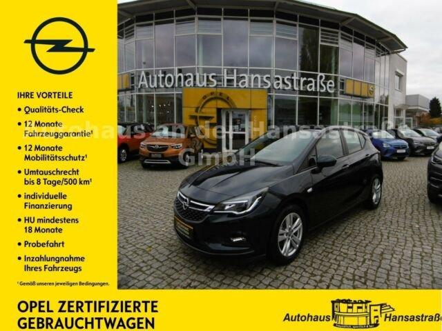 Opel Astra 1,4 Turbo Edition Allwetterreifen Kamera, Jahr 2019, Benzin