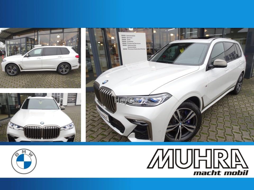 BMW X7 M50iA AHK Komfortsitze Standhzg Sky Lounge, Jahr 2020, Benzin