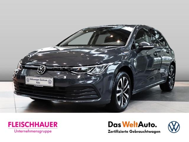 Volkswagen Golf VIII United 1.0 TSI NAVI LED KLIMA PDC AHK, Jahr 2020, Benzin