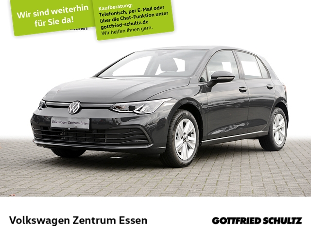 Volkswagen Golf Life 1.5 TSI LED AppConn ACC Keyless SHZ, Jahr 2020, Benzin