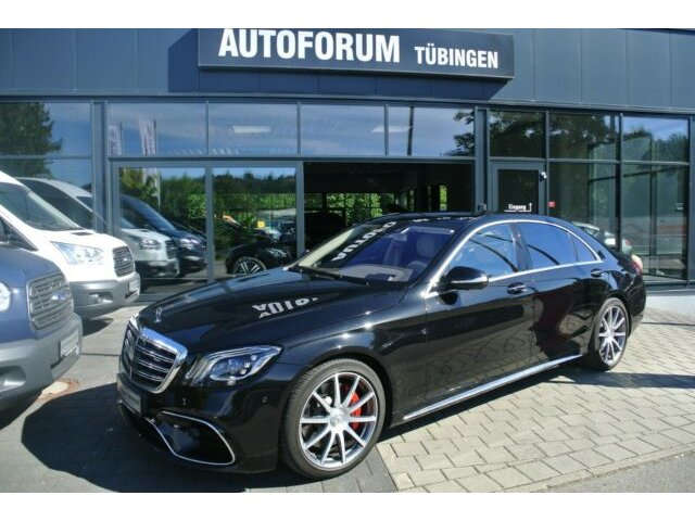 Mercedes-Benz S 63 4MATIC+ L *FACELIFT*PANORAMA*DRIVERS PACKG*, Jahr 2017, Benzin