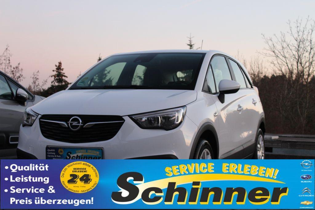 Opel Crossland X 1.2 Edition, Jahr 2018, Benzin