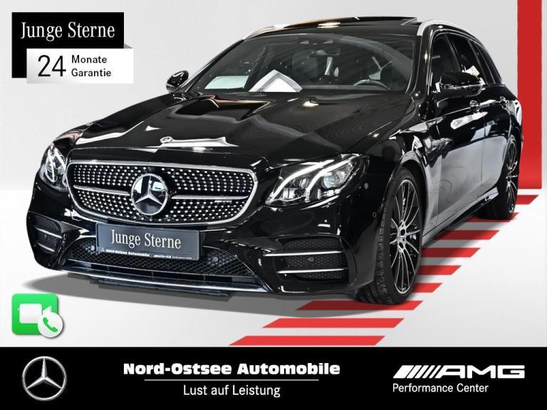 Mercedes-Benz E 53 T AMG Comand 4M Drivers P. 360° Distr. LED, Jahr 2018, Benzin