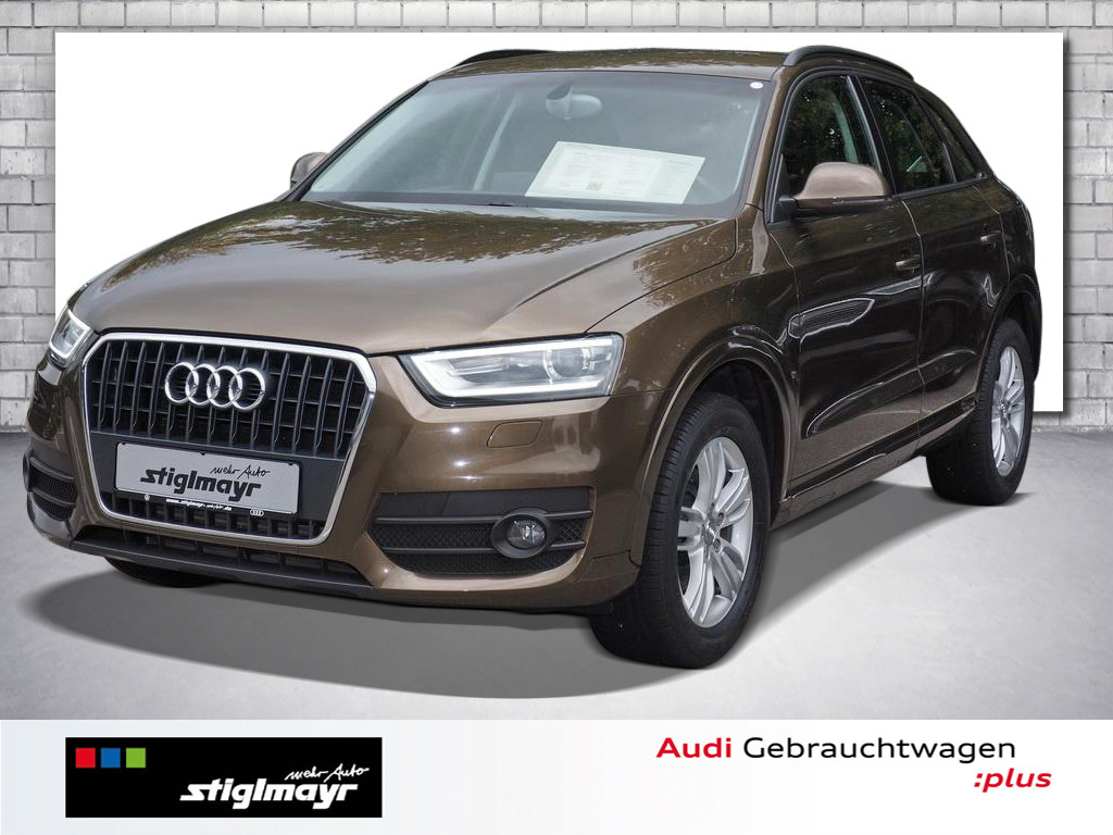 Audi Q3 2.0 TDI SPORTSITZE+XENON+SITZHEIZUNG+Alu-17`, Jahr 2012, Diesel