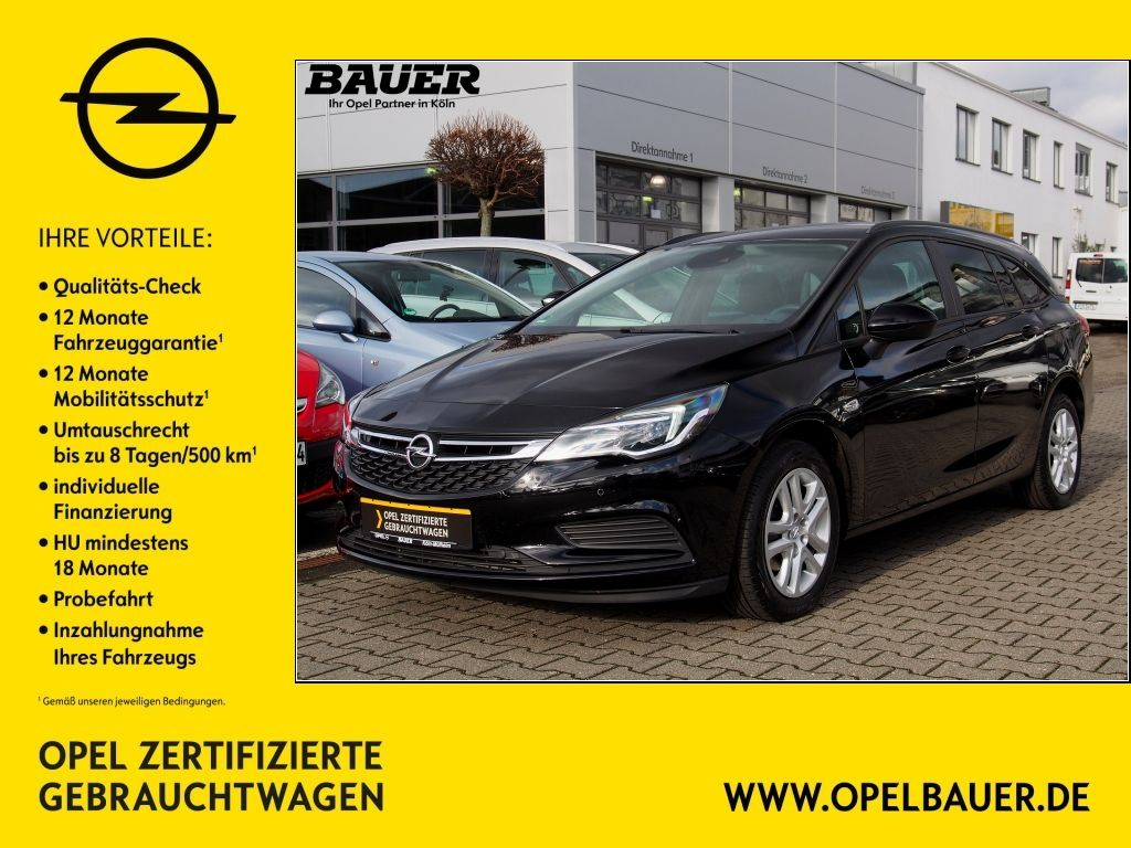 Opel Astra 1.4 Turbo Edition Sports Tourer, Jahr 2018, Benzin