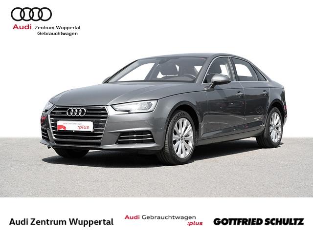 Audi A4 Lim. 2.0TFSI QUAT B&O CONNECT NAV XEN PDC FSE SELECT MUFU 17ZOLL Design, Jahr 2017, Benzin