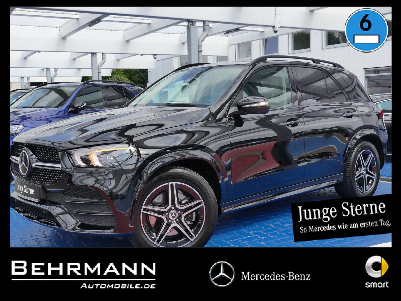 Mercedes-Benz GLE 300d AMG 4M +Distronic+360°Kam+LED-Scheinw.+, Jahr 2020, Diesel