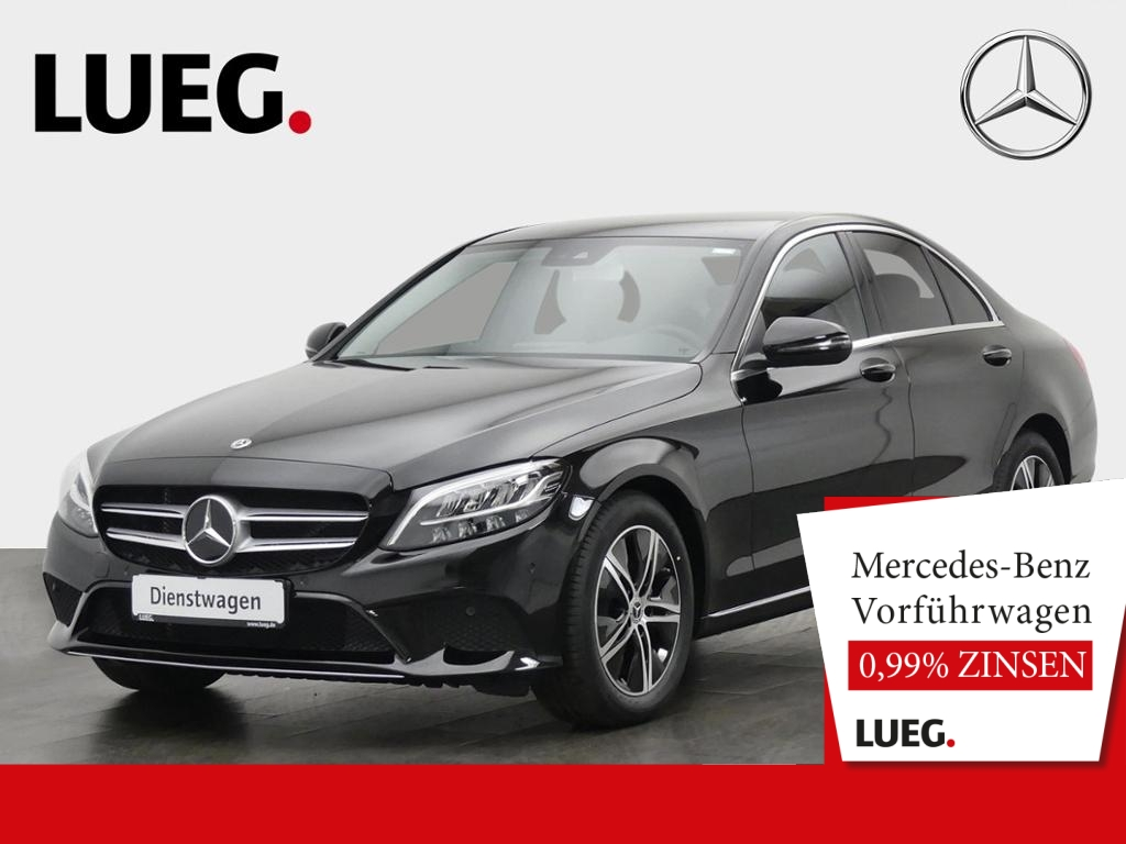 Mercedes-Benz C 180 AVANTGARDE+LED+TOTW+SOUND+KAMERA+PTS+SHZ, Jahr 2020, Benzin