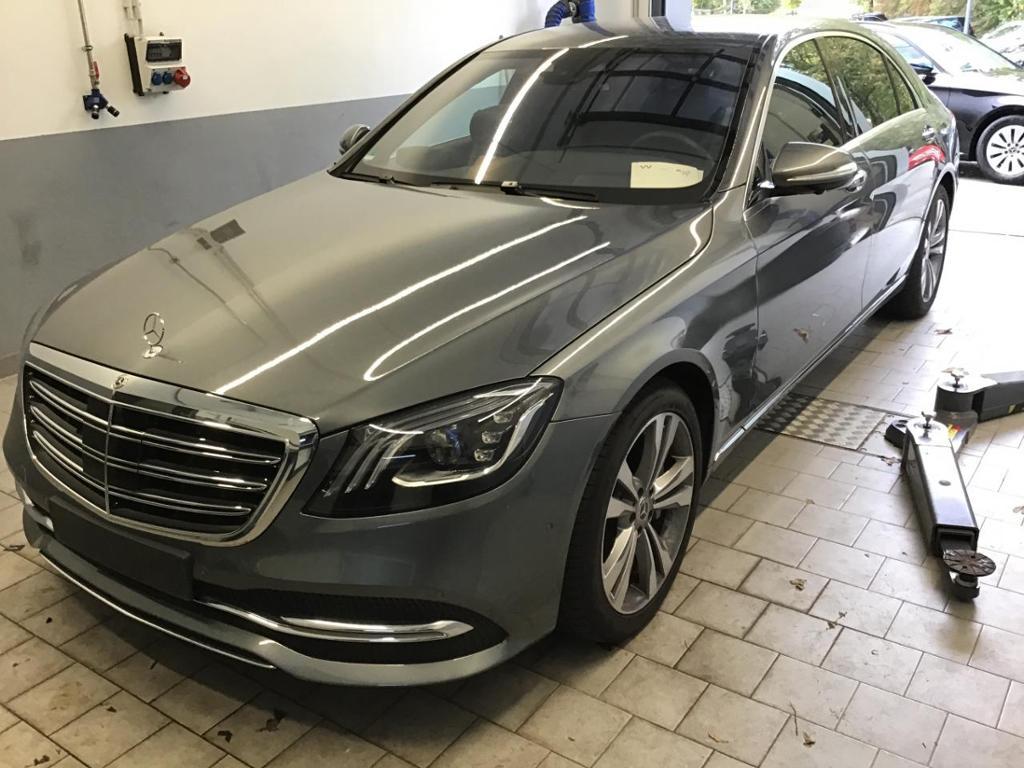 Mercedes-Benz S 400 d 4M Lang Nachtsicht StHzg Fond-TV 360°, Jahr 2018, diesel