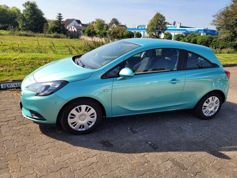 Opel Corsa 1.2 Edition/Klimaanlage/Sitzheizung/Lenkradheizung/Allwetterreifen, Jahr 2014, Benzin