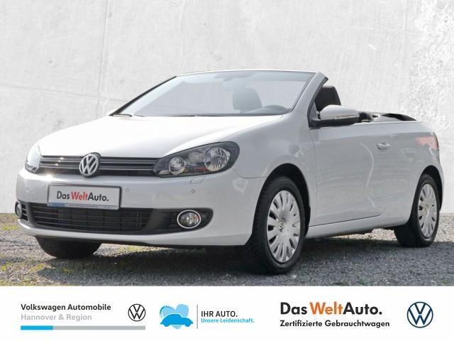 Volkswagen Golf VI Cabriolet 1.4 TSI Navi GRA Klima PDC Sitzheiz, Jahr 2015, Benzin