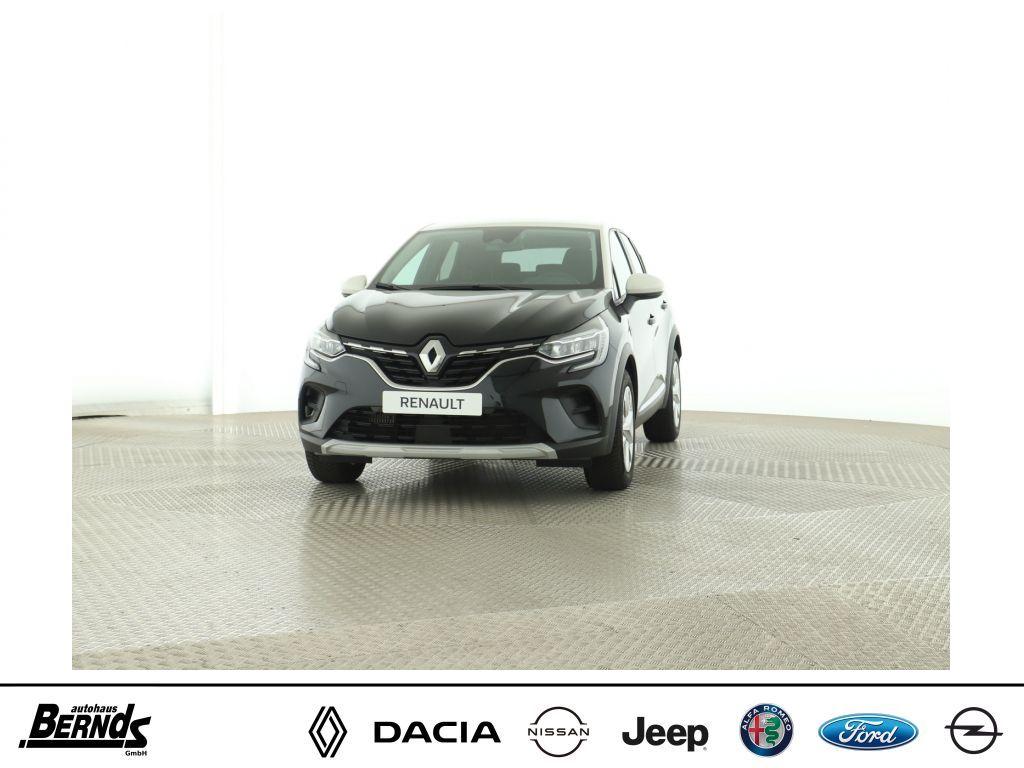 Renault Captur TCe100 EXPERIENCE DELUXE + VISION Paket., Jahr 2020, Benzin