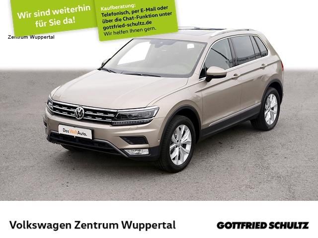 Volkswagen Tiguan 2,0 TDI Highline 4M DSG NAVI LED PANO VC AHK, Jahr 2016, Diesel