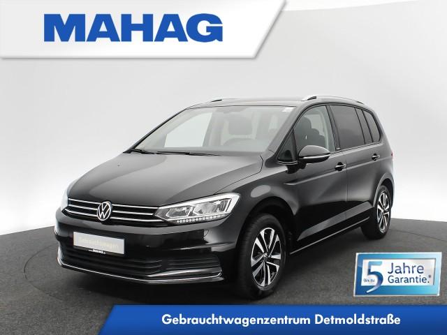 Volkswagen Touran UNITED 2.0 TDI 7-Sitzer Navi LED ParkPilot AppConnect FrontAssist ACC Sprachbed. DSG, Jahr 2020, Diesel