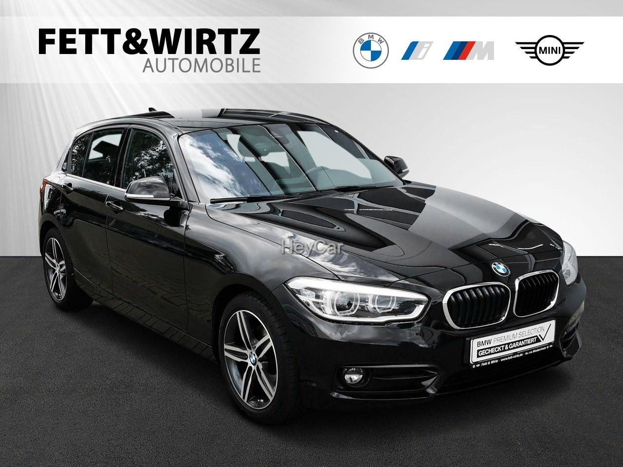 BMW 125d Sport Line LED Navi Sports. Aut., Jahr 2018, Diesel