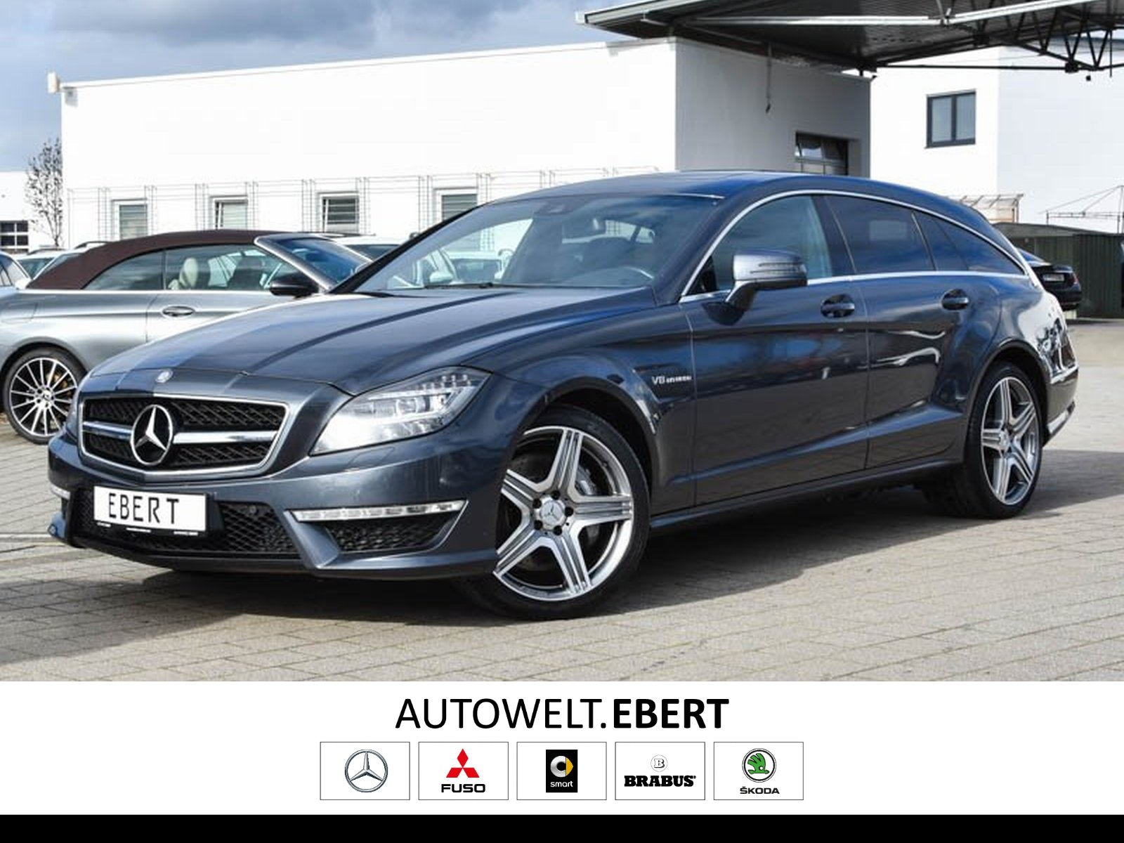 Mercedes-Benz CLS 63 AMG SB DRIVERS PACKAGE+COMAND+LED+KAMERA, Jahr 2013, Benzin