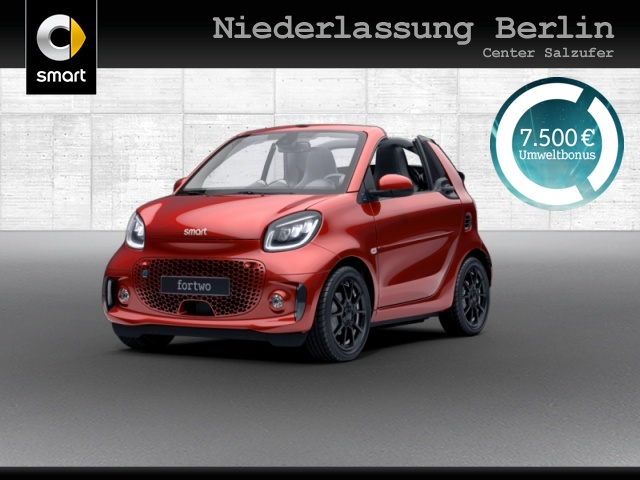 "smart fortwo EQ Cabrio prime ""5.000 BaFa Förderung, Jahr 2020, electric"
