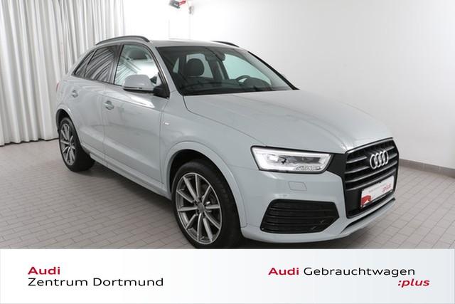 Audi Q3 1.4 TFSI S line/BlackOptik/Navi/LED/Nardo, Jahr 2016, Benzin