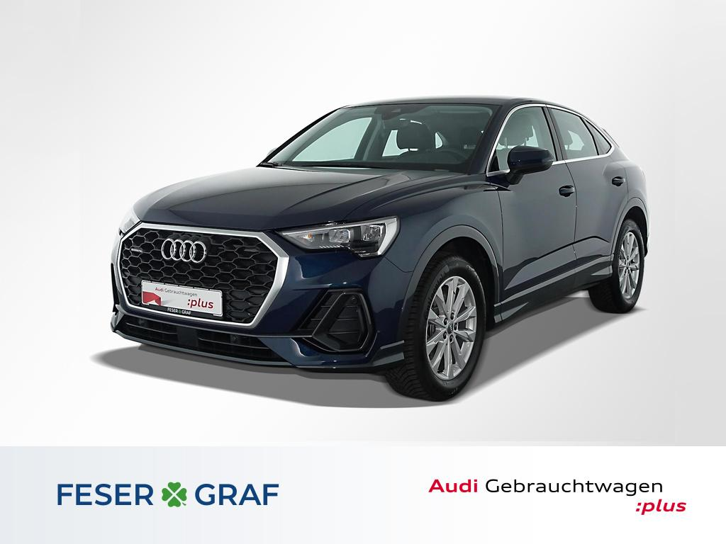 Audi Q3 Sportback 45TFSI q. Nav/Leder/AHK/Virtual/18, Jahr 2020, Benzin