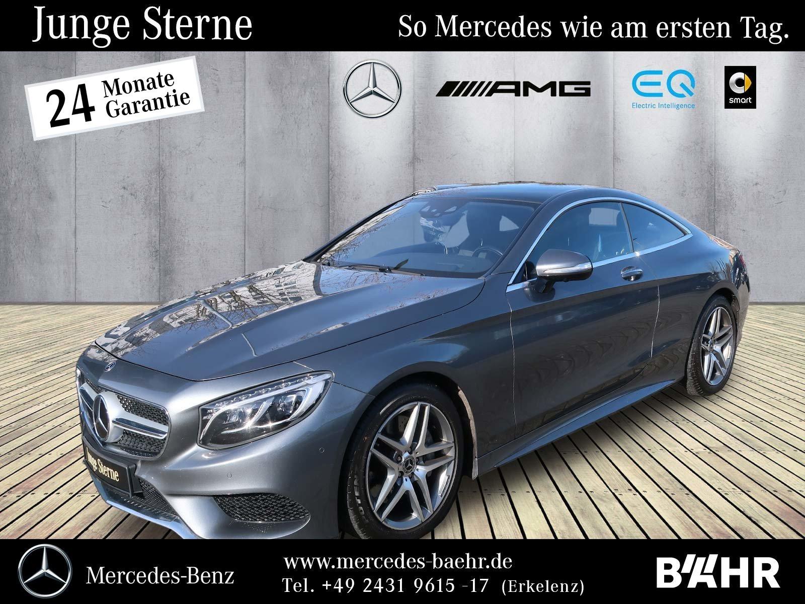 Mercedes-Benz S 500 4M Coupé AMG/Comand/ILS/Standheizung/LMR19, Jahr 2017, Benzin