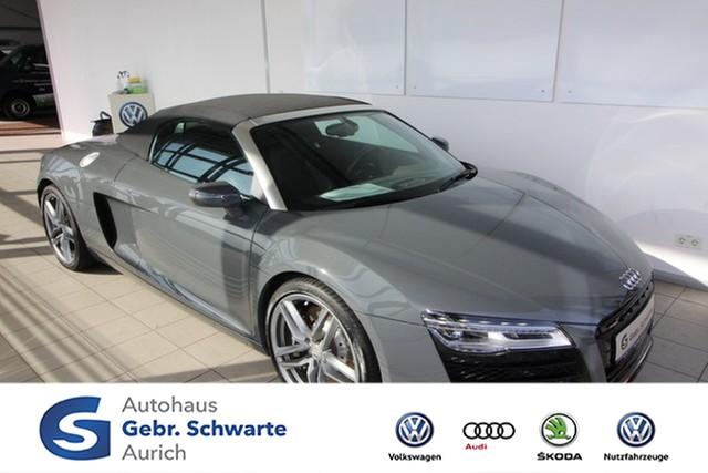 Audi R8 Spyder 4.2 FSI S-tronic quattro LED Navi Shzg, Jahr 2013, petrol