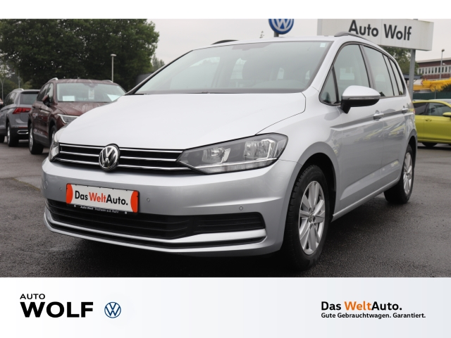 Volkswagen Touran Comfortline 1.5 TSI BMT Start-Stopp EU6d-T Navi ACC AHK-klappbar PDCv+h Multif.Lenkrad, Jahr 2020, Benzin