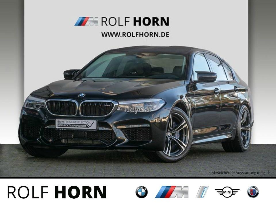 BMW M5 xDrive Navi Klima Sitzhzg B&W Leder DAB, Jahr 2019, Benzin