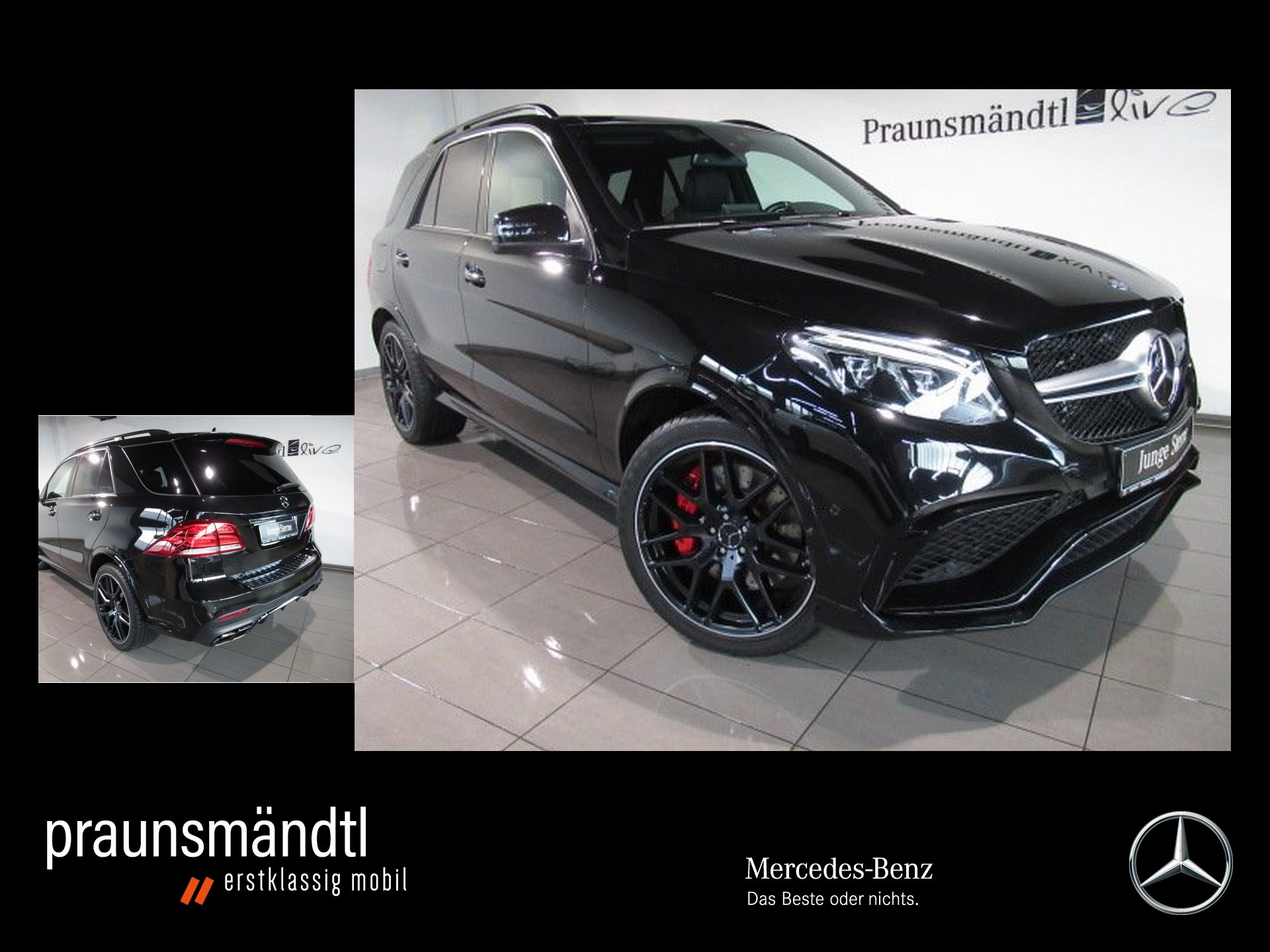 Mercedes-Benz GLE 63 AMG S 4M Night AIR/Standhz/Pano/AHK/Distr, Jahr 2016, Benzin