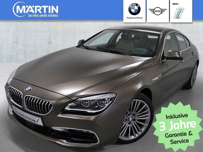BMW 640i Gran Coupé *Head-Up*HiFi*LED*WLAN*GSD*RFK*, Jahr 2017, Benzin