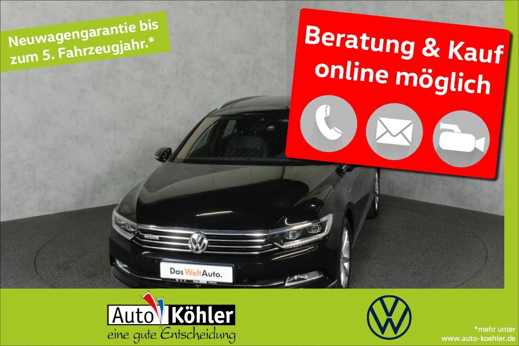volkswagen passat variant highline tdi dynaudio el. 14-we, jahr 2018, diesel