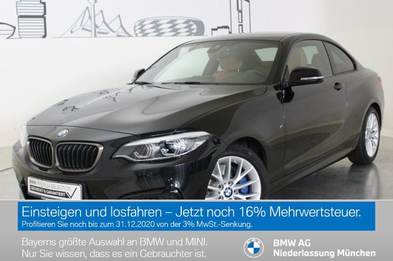 BMW M240i xDrive Coupé M Sportbr. HK HiFi LED RFK, Jahr 2019, Benzin