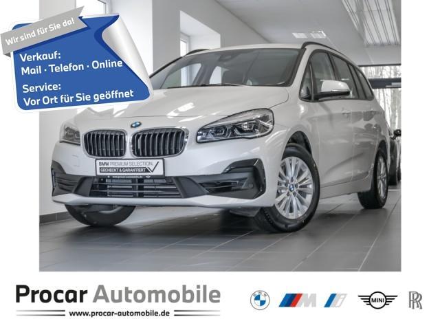 BMW 218 Gran Tourer Klima Sportsitze Lea. ab 242,-, Jahr 2019, Benzin