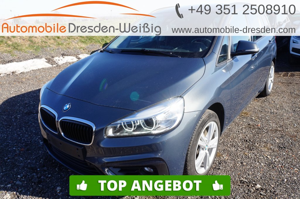BMW 220 Gran Tourer d xDrive Advantage*Navi*LED*PDC*, Jahr 2018, Diesel