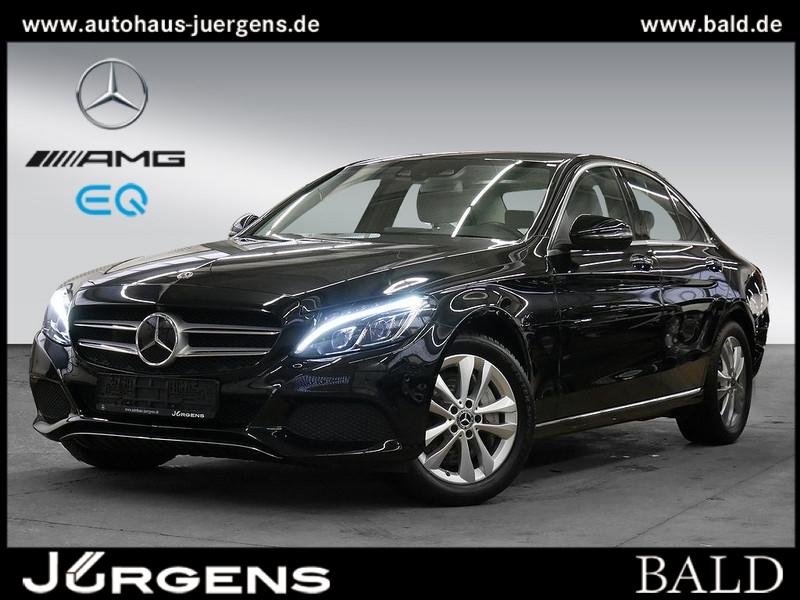 Mercedes-Benz C 400 4M Avantgarde/Comand/ILS/360/Airm/Keyl/SHZ, Jahr 2017, Benzin