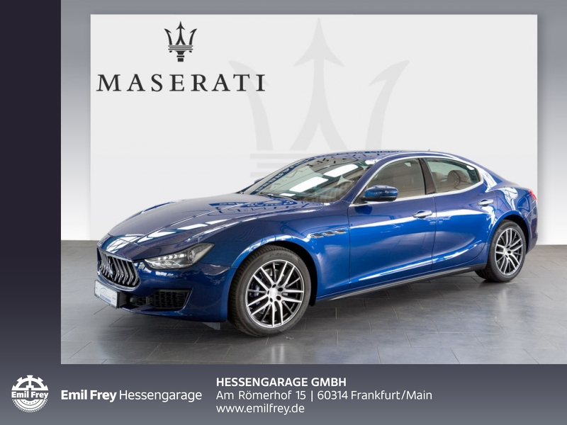 Maserati Ghibli Aut. Totw. DAB Kamera 19'' Leder 1.Hd, Jahr 2018, Diesel