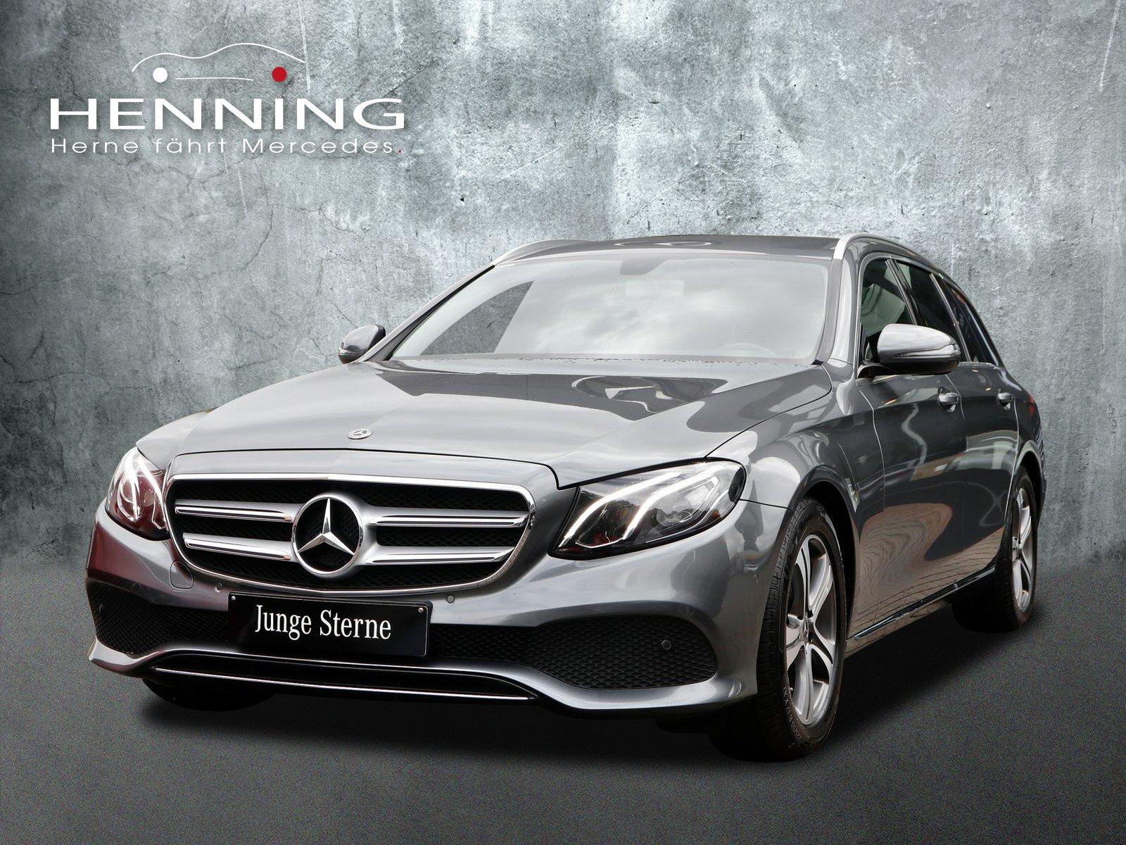 Mercedes-Benz E 200T Avantgarde 9G Widescreen Ambientebel Totw, Jahr 2018, Benzin